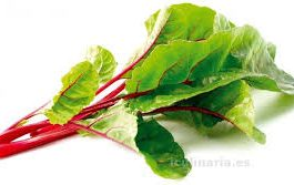 Acelga Verde Penca Roja 500 Grs