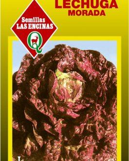 Semillas de Lechuga Morada 4 Estaciones