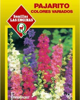 Semillas de Pajarito Colores Variados Larkspur