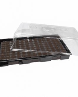 Tapa para Almaciguera Plástica Transparente