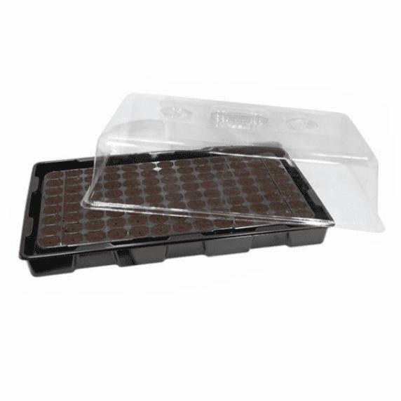 Tapa para Almacigueras Plásticas Transparentes