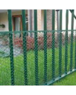 Malla Cerco Exagon Verde 0.50×5 Mts Jardín Y Protección