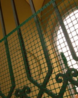 Malla Cerco Quadra Verde 20mm 1×50 Mts Jardin Y Proteccion