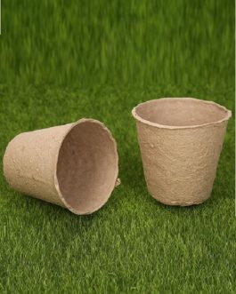 Macetero de Papel Biodegradable, Maceta Especial para Semillero