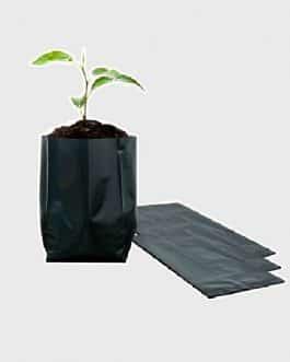 Bolsa Plástica para Almácigo y Plantas de 12×12 – 50 unidades