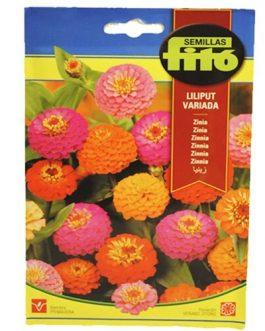 Fitó Flores Zinnia Liliput Variada