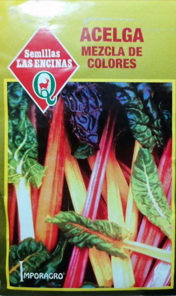 Acelga Mezcla De Colores