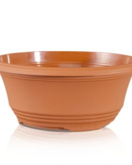 Macetero Tipo Plato T30 Color Terracota