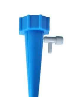 Adaptador para Riego por Goteo el Hogar para Plantas y Flores, de color Azul
