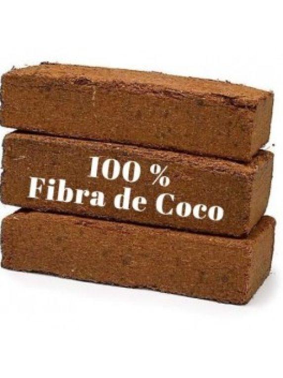 Fibra De Coco Bloque De 5 Kgs (Peso Aproximado)