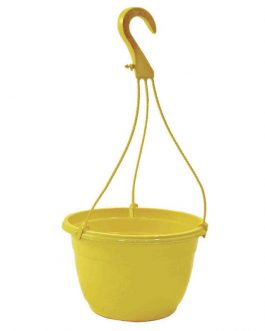 Macetero Colgante Mal-25 Amarillo