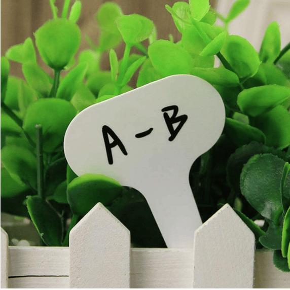 Etiquetas Reutilizables Para Plantas y Flores