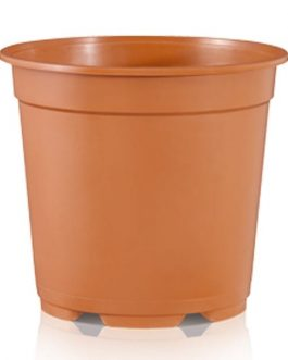Macetero MCL-24 de 24×21.6 cm 6.3 Lts Color Terracota