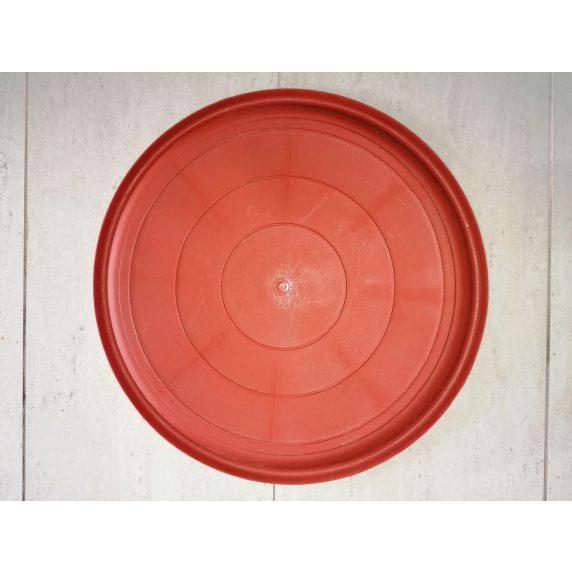 Plato Redondo N50 de Color Terracota