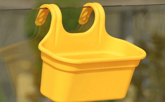 Jardinera de Balcón Huertos Alma Amarilla