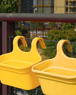 Jardinera Balcón Amarillo