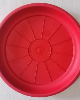 Plato Para Macetero Redondo P-42 Color Rojo
