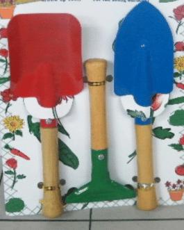 Kit de Herramientas de Jardín 3 Piezas de Colores