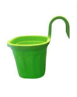 Jardinera Simple de Balcón Verde
