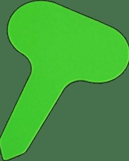 Etiquetas Verdes Reutilizables Para Plantas y Flores 10 Unidades
