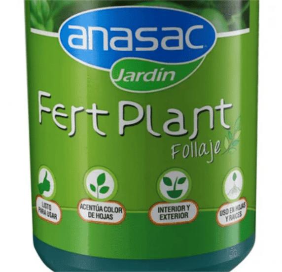 Fertilizante Fert Plant para Follaje de 1 Litro Huertos Alma