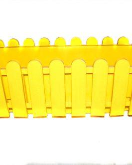Jardinera de Reja Amarilla