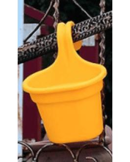 Jardinera Simple de Balcón Amarilla