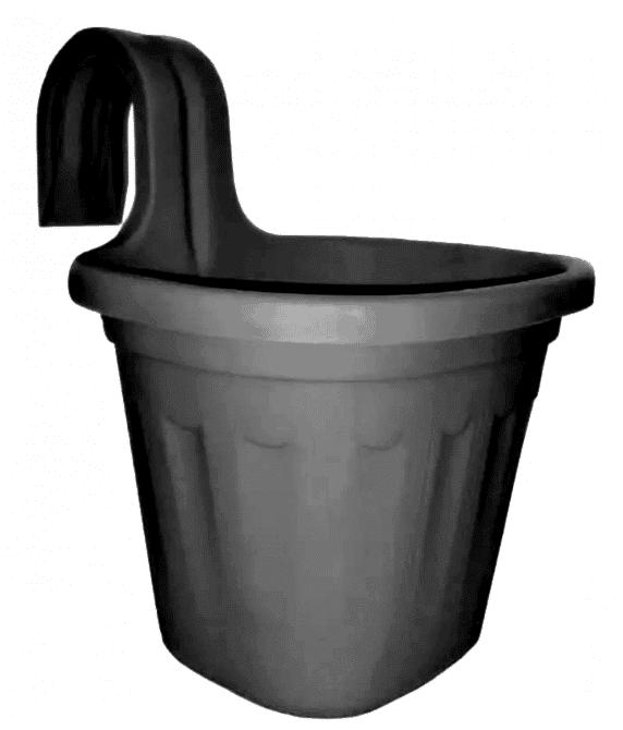 Jardinera Negra Simple