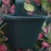 Jardinera Simple de Balcón Verde Oscuro
