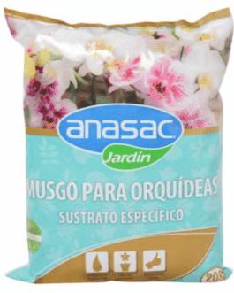 Sustrato Específico Para Orquídeas de Musgo 200 Grs