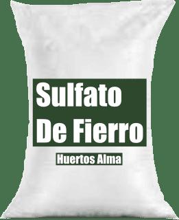 Fertilizante Sulfato de fierro
