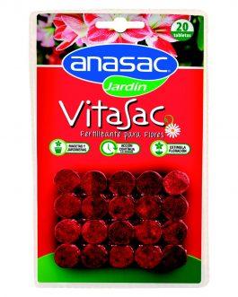 Fertilizante para flores Vitasac 20 Tabletas