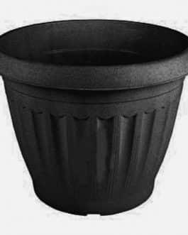 Macetero Grande de M-50 Color Negro