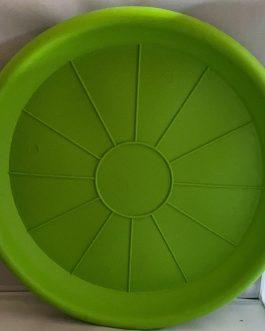 Plato Para Macetero Redondo P-42 Color Verde