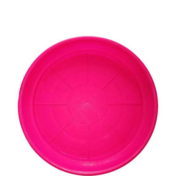 Plato Para Macetero Redondo P-42 Color rosado-cutout