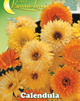 Semillas De Calendula Gigante Doble Mix