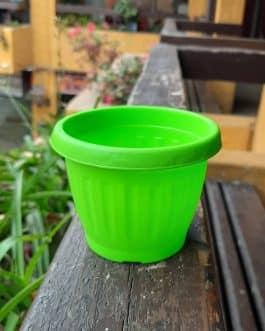 Macetero M8 redondo color Verde