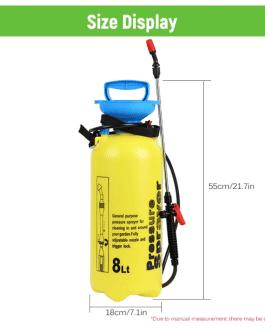 Rociador Pulverizador de 8 litros
