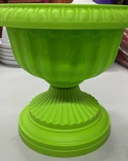 Macetero Tipo Copa Color Verde