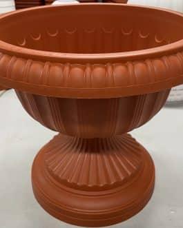 Macetero Tipo Copa Color Terracota 30 Cm