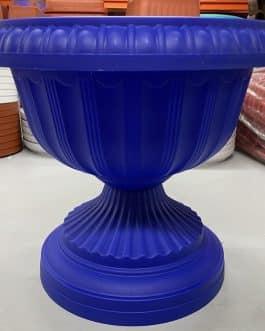Macetero Tipo Copa Color Azul