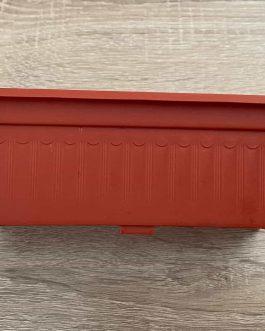 Jardinera Mini Terracota 16×6 cm