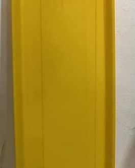 Plato Para Jardinera PJR-60 Color Amarillo