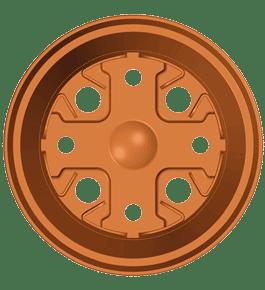 Maceteros de 8×6.2 cm Terracota TO-8-D
